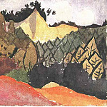 Paul Klee - In the Quarry, 1913, Klee foundation, Bern