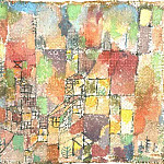 Paul Klee - Two country houses, 1918, Collection Dr. Charlotte Weid