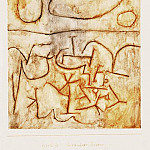 Paul Klee - Historic soil, 1939, Watercolor on paper, Barnes founda