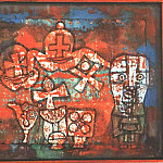 Paul Klee - Chinese porcelain, 1923, Collection Mr. and Mrs. Werner