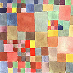 Paul Klee - Flora on sand, 1927, Collection Felix Klee, Bern