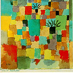 Paul Klee - Southern (Tunisian) gardens, 1919, Watercolour, Collect