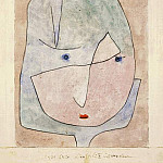 Paul Klee - This flower wishes to fade, 1939, Watercolor on paper,