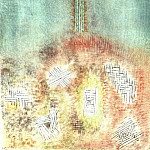 Paul Klee - The column, 1926, Collection Mr. and Mrs. Rudolf Burge,