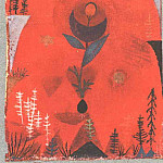 Paul Klee - Flower myth, 1918, Collection Dr. Bernhard Sprengel, Ha