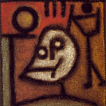 Paul Klee - Death and fire, 1940, 44 x 46 cm