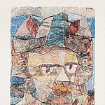 Paul Klee - The last of the mercenaries, 1931, Watercolor on paper,