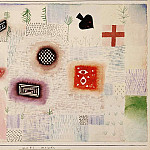 Paul Klee - Garden signs, 1926, Watercolor on paper, Barnes foundat