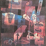 Paul Klee - Analysis of Various Perversities, 1922, Collection Hein