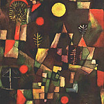 Paul Klee - Full moon, 1919, Stangel Gallery, Munich