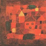 Paul Klee - Landscape at sunset, 1923, Marlborough Gallery, London