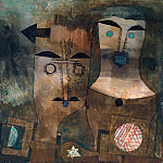Paul Klee - A pair of gods