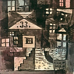 Paul Klee - In the old part of town, number 33
