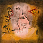 Paul Klee - Quivering Chapel