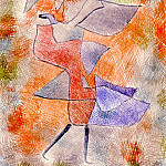 Paul Klee - Diana in the Autumn Wind, 1934, Kunstmuseum, Bern.