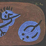 Paul Klee - Blue-bird-pumpkin, 1939, Collection Heinz Bergguen, Par