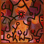 Paul Klee - Flora on rocks