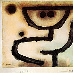 Paul Klee - Embrace, 1939, Paste colour, watercolour and oil on pap