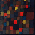 Paul Klee - Abstract color harmony