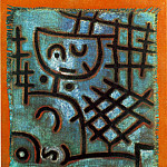 Paul Klee - Captive, 1940, Oil on burlap, Collection Mr. and Mrs. F