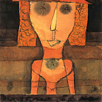 Paul Klee - Mrs. R on her Travels to the South