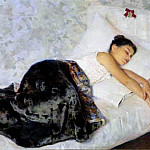 Nikolai Kuznetsov - Sleeping girl