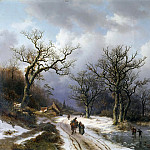 Aurele Robert - Winter landscape