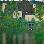 Schloss Kammer on the Attersee I, Gustav Klimt