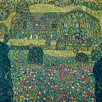 Country House by the Attersee, Gustav Klimt