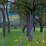 After the Rain, Gustav Klimt