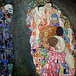 Death and Life, Gustav Klimt