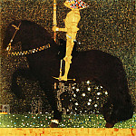 The Golden Knight, Gustav Klimt