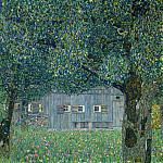 Upper Austrian Farmhouse, Gustav Klimt