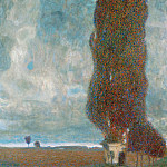 Gustav Klimt - The Large Poplar Tree II