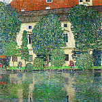 Schloss Kammer on the Attersee III, Gustav Klimt