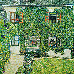 House in Weissenbach of Attersee Lake, Gustav Klimt