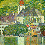 Church in Unterach on Atterse, Gustav Klimt