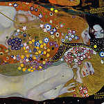 Water Serpents II, Gustav Klimt