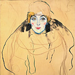Gustav Klimt - Portrait of a Woman