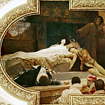 Death of Romeo and Juliet, Gustav Klimt