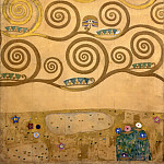 Mural for the dining room of the Stoclet Palais, Gustav Klimt