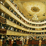Auditorium in the Old Burgtheater, Vienna, Gustav Klimt