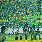 Slope in a Forest on Attersee Lake, Gustav Klimt