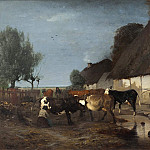 Axel Jungstedt - Farmstead in Skåne