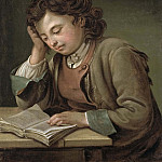 Nils Kreuger - A Boy Reading