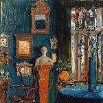 Wilhelm Trubner - The Blue Room