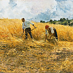 Fritz Von Uhde - The harvest