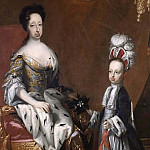 Hedvig Eleonora , Queen of Sweden and Karl Fredrik , Duke of Holstein [Attributed]