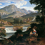 Karl Friedrich Schinkel - Waterfall near Subiaco
