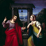 Caroline Bardua - Christ and the Samaritan Woman at the Well